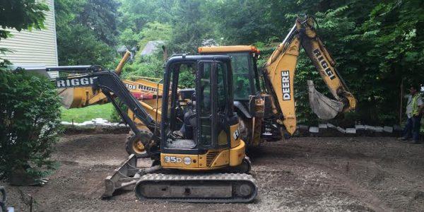 Excavation homeowner driveway Excavation Work Bergen County NJ