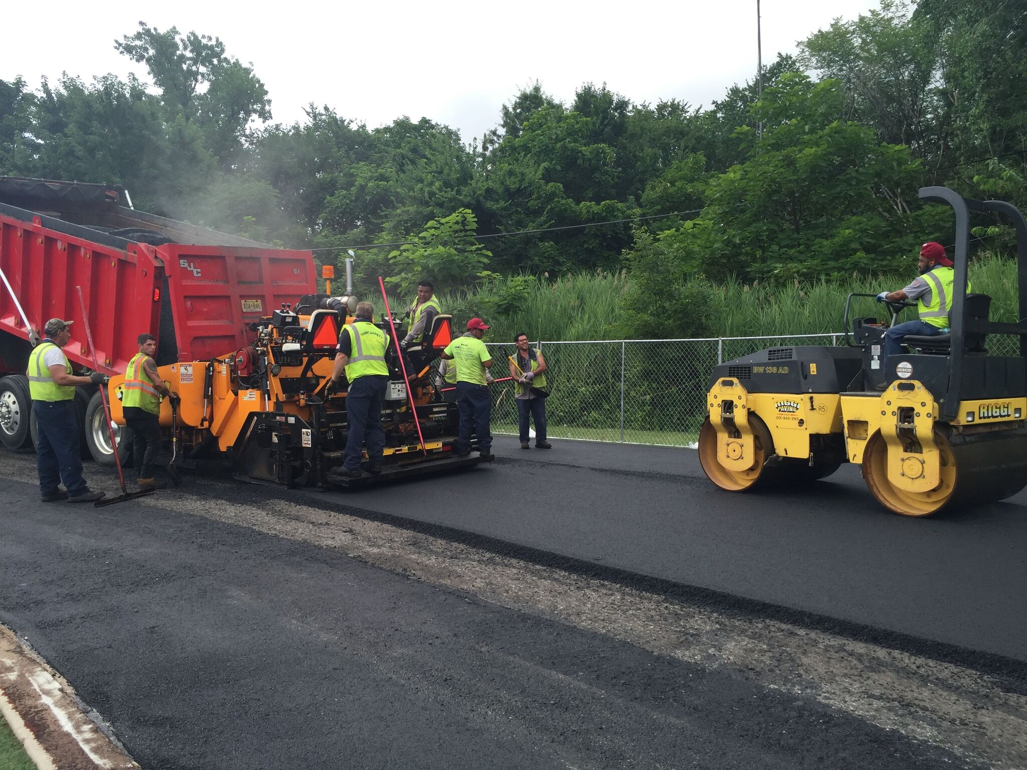 Paving Companies NJ | Riggi Paving Municipal Pavers